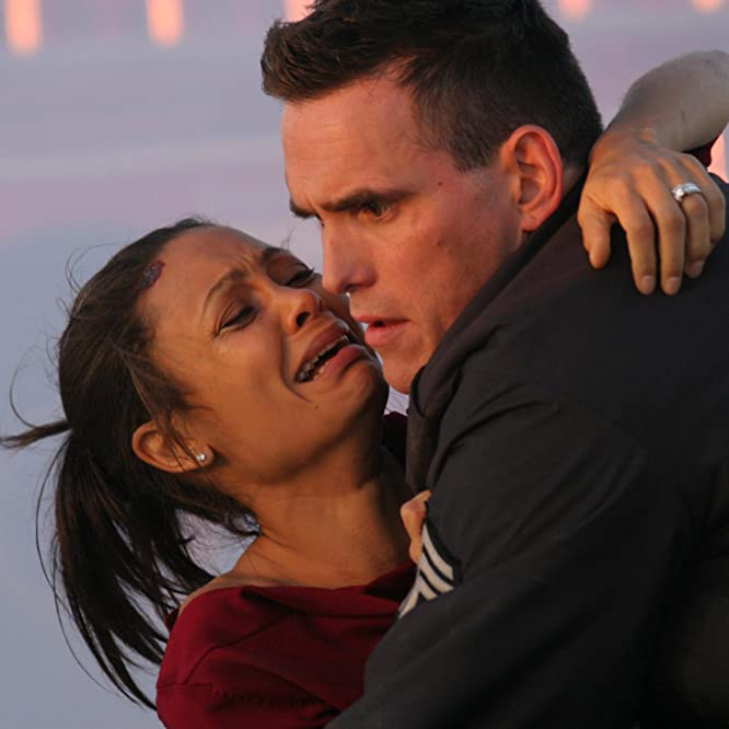Matt Dillon and Thandie Newton in Crash (2004)