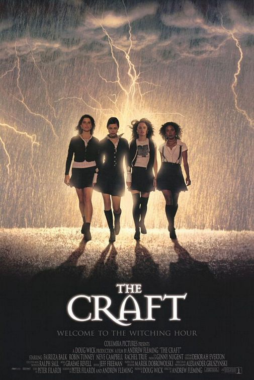 Link to Catalogue record for The Craft dvd