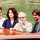 Woody Allen, Ewan McGregor, Colin Farrell, and Hayley Atwell at an event for Cassandra's Dream (2007)