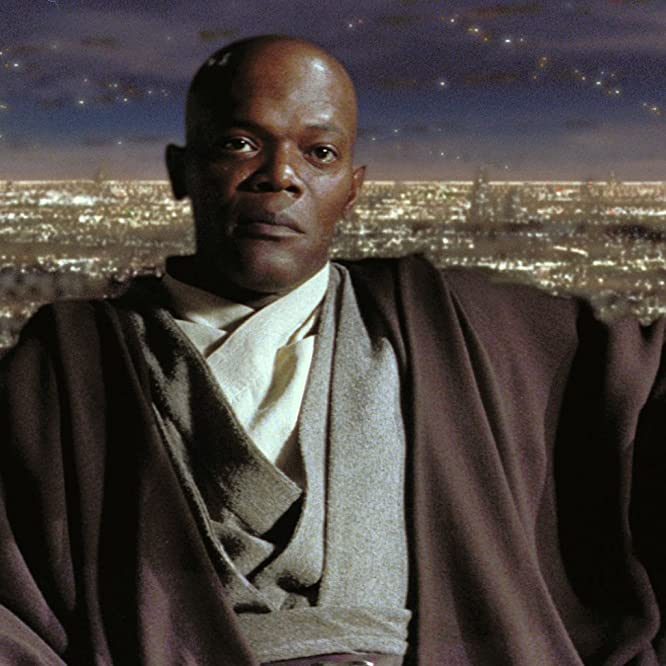 Samuel L. Jackson in Star Wars: Episode I - The Phantom Menace (1999)