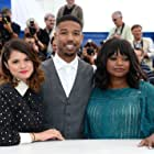 Melonie Diaz, Michael B. Jordan, and Octavia Spencer at an event for Fruitvale Station (2013)