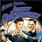 Michael Keaton and Joe Piscopo in Johnny Dangerously (1984)