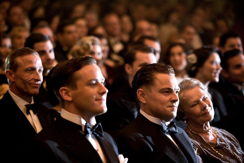 Leonardo DiCaprio, Judi Dench, and Armie Hammer in J. Edgar (2011)