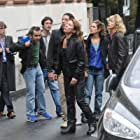 Jérémie Elkaïm, Emmanuelle Bercot, Marina Foïs, Arnaud Henriet, Maïwenn, JoeyStarr, Karin Viard, and Naidra Ayadi in Polisse (2011)