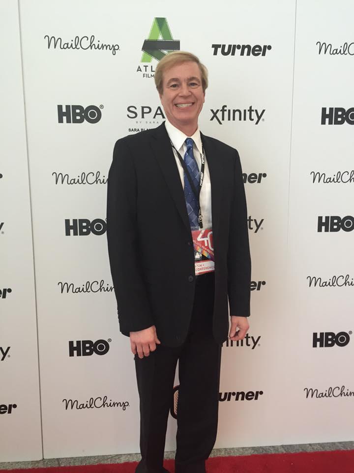 Mark Holliway - Atlanta Film Festival Kickoff Party, April 2, 2016. Ruby in Paradise Film Premier.
