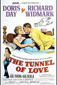 Doris Day and Richard Widmark in The Tunnel of Love (1958)