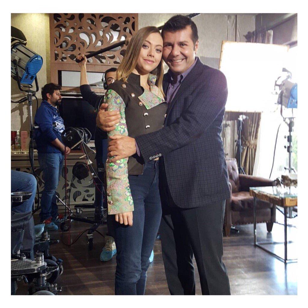 Hakki Ergök and Gözde Kaya in Çilek Kokusu (2015)