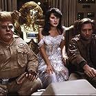 Bill Pullman, John Candy, Joan Rivers, Daphne Zuniga, and Lorene Yarnell Jansson in Spaceballs (1987)