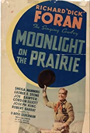 Moonlight on the Prairie Poster