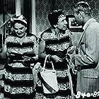 Tab Hunter, Elizabeth Howell, and Jean Stapleton in Damn Yankees (1958)