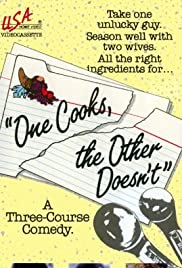 One Cooks, the Other Doesn't Poster