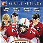 Winona Ryder, Charlie Sheen, Corey Haim, and Kerri Green in Lucas (1986)