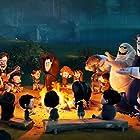 Steve Buscemi, Dana Carvey, Adam Sandler, David Spade, Kevin James, Keegan-Michael Key, and Asher Blinkoff in Hotel Transylvania 2 (2015)