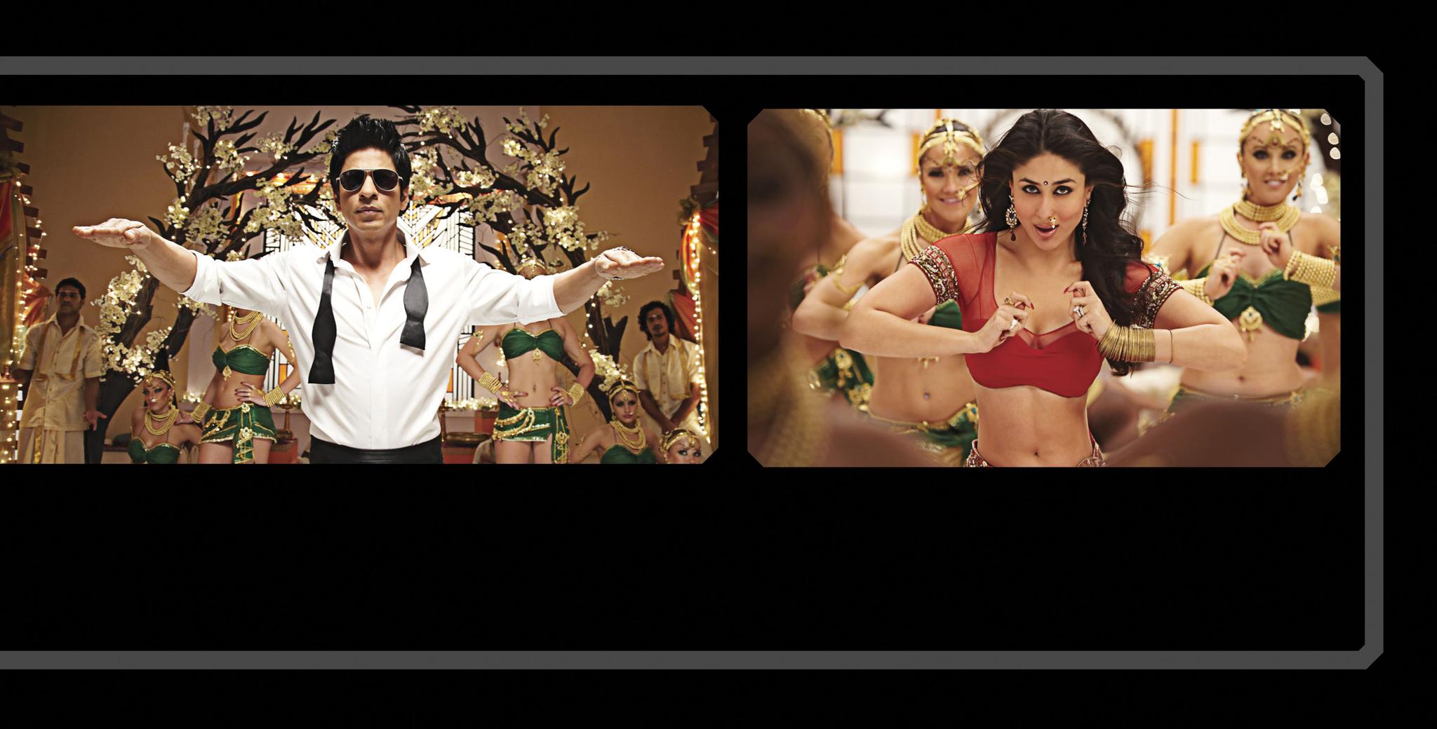 Kareena Kapoor and Shah Rukh Khan in Ra.One (2011)