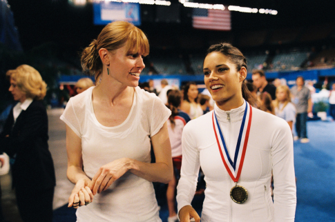 Jessica Bendinger and Missy Peregrym in Stick It (2006)