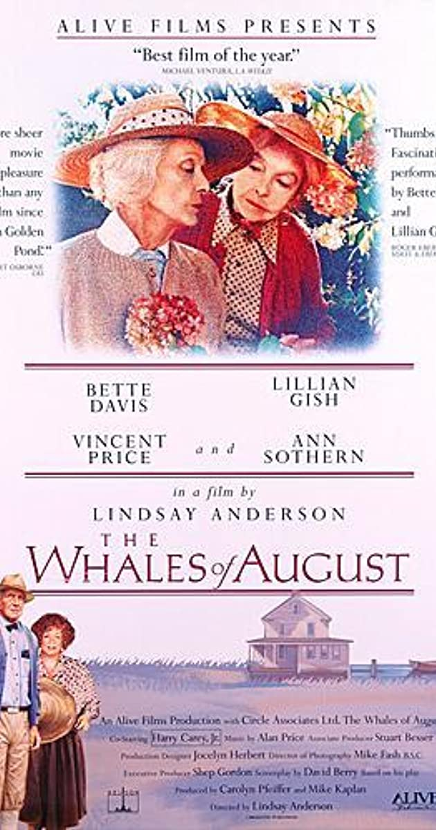 The Whales Of August 1987 Imdb