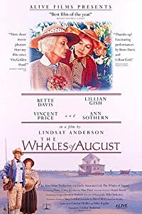 Adult movie dvd downloads The Whales of August [4K