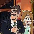 Nathan Fillion and Kari Wahlgren in Gravity Falls (2012)