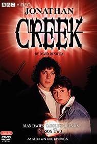 Alan Davies and Caroline Quentin in Jonathan Creek (1997)