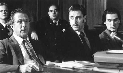 Dustin Hoffman, Billy Crudup, and Ron Eldard in Sleepers (1996)