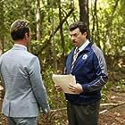 Walton Goggins and Danny McBride in Vice Principals (2016)