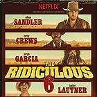 Adam Sandler, Rob Schneider, Luke Wilson, Terry Crews, Jorge Garcia, and Taylor Lautner in The Ridiculous 6 (2015)