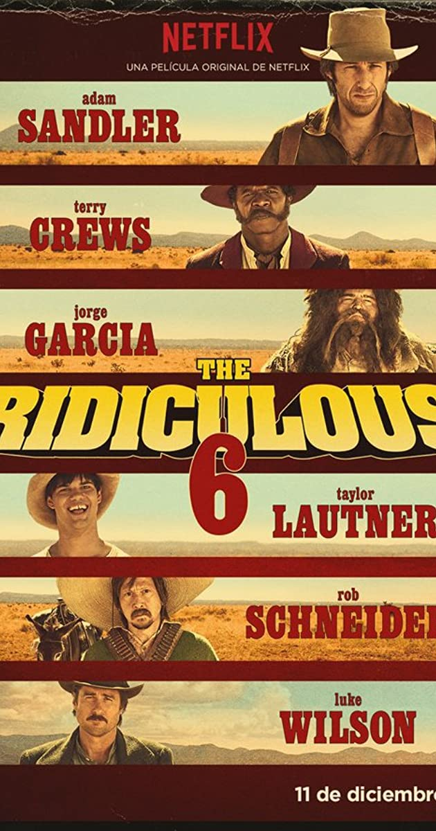 Nevykėlių 6 / The Ridiculous 6 (2015) Online