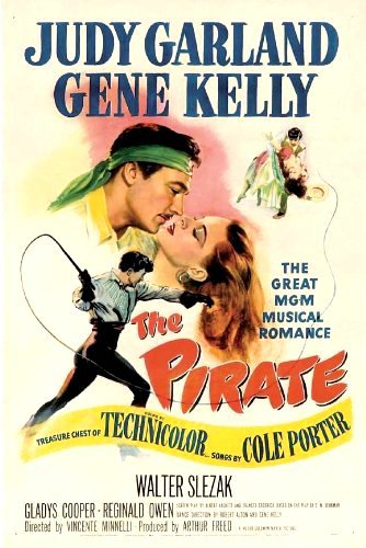 Judy Garland and Gene Kelly in The Pirate (1948)