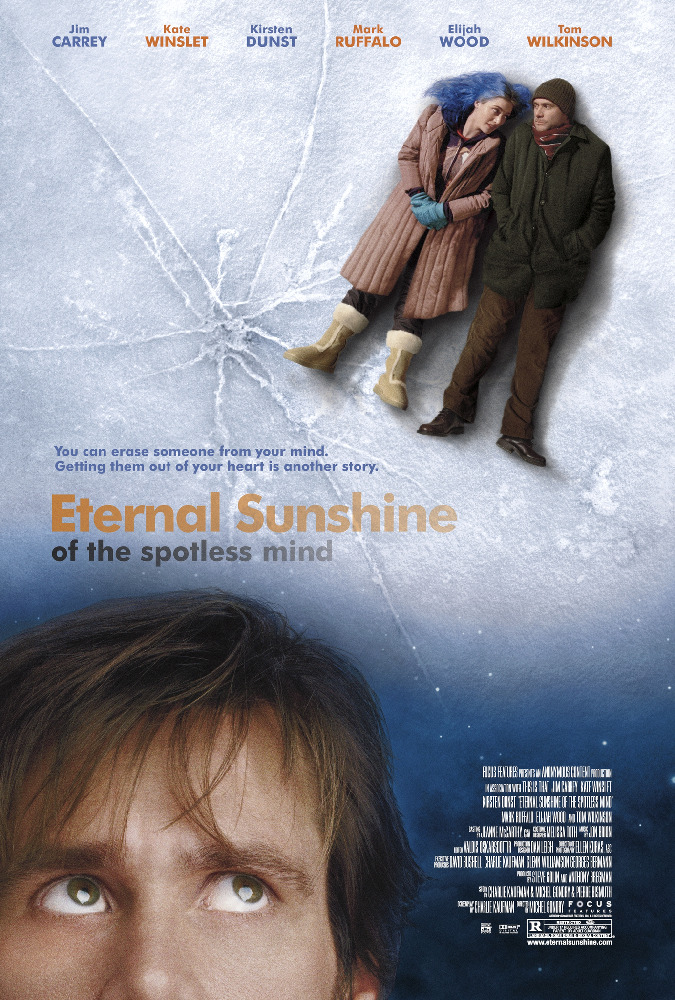 Image result for Eternal Sunshine Of The Spotless Mind, 2004