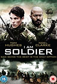 Noel Clarke and Tom Hughes in I Am Soldier (2014)