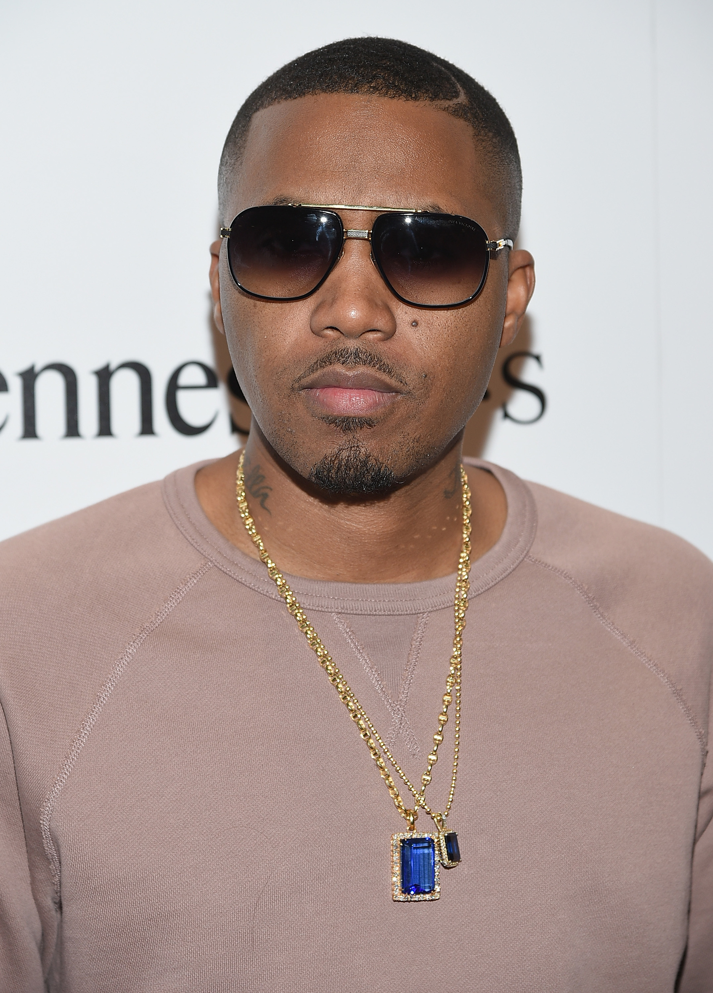 Nas at an event for Time Is Illmatic (2014)