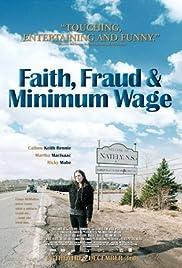 Faith, Fraud, & Minimum Wage Poster
