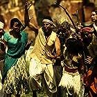 Akshay Kumar, Sanjay Mishra, Shreyas Talpade, Minissha Lamba, and Asrani in Joker (2012)