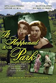 It Happened in the Park Poster