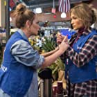 Jennifer Lopez and Leah Remini in Second Act (2018)