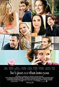 Jennifer Aniston, Drew Barrymore, Jennifer Connelly, Ben Affleck, Kevin Connolly, Bradley Cooper, Ginnifer Goodwin, Scarlett Johansson, and Justin Long in He's Just Not That Into You (2009)