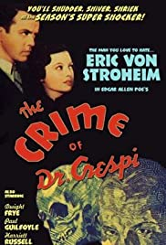 The Crime of Doctor Crespi Poster