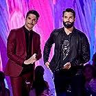 Tyler Hoechlin and Tyler Posey at an event for Teen Choice Awards 2017 (2017)