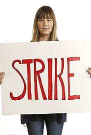 Jason Bateman, Jessica Biel, and Josh Gad Support the Strike! Poster
