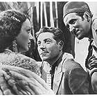 Mireille Balin, Jean Gabin, and Lucas Gridoux in Pépé le Moko (1937)