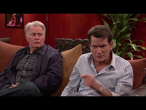 """anger management\"""" charlie\u0027s dad visits (tv episode 2012) imdbclip"""