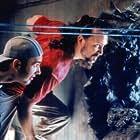 JAKE (John B. Crye), Scott (Paul Hungerford), and Ben (Seann William Scott) survey the damage in STARK RAVING MAD.
