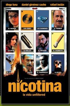 Nicotina poster