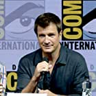 Nathan Fillion at an event for Dr. Horrible's Sing-Along Blog (2008)
