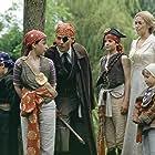 Johnny Depp, Kate Winslet, Freddie Highmore, Joe Prospero, Nick Roud, and Luke Spill in Finding Neverland (2004)
