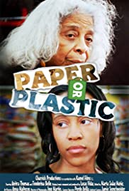 Paper or Plastic Poster