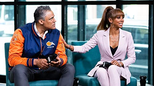 "BUILD: Holly Robinson Peete&Rick Fox Tease An Upcoming Kiss on ""MSM"""