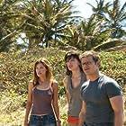 Milla Jovovich, Steve Zahn, and Kiele Sanchez in A Perfect Getaway (2009)