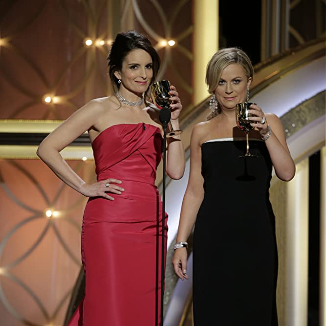 Tina Fey and Amy Poehler at an event for 71st Golden Globe Awards (2014)
