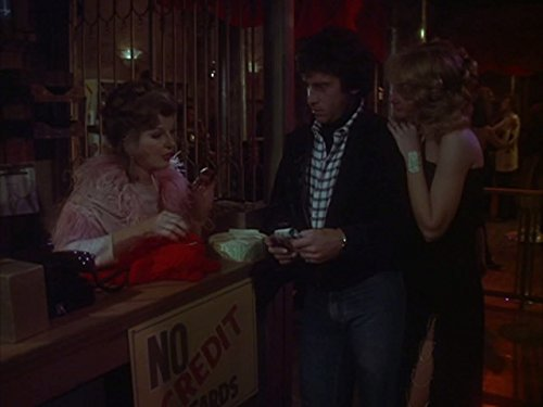 Paul Michael Glaser and Corinne Calvet in Starsky and Hutch (1975)
